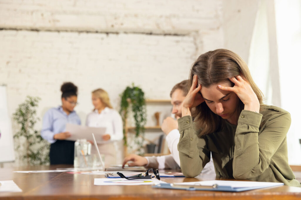 Avoid anxiety in the workplace
